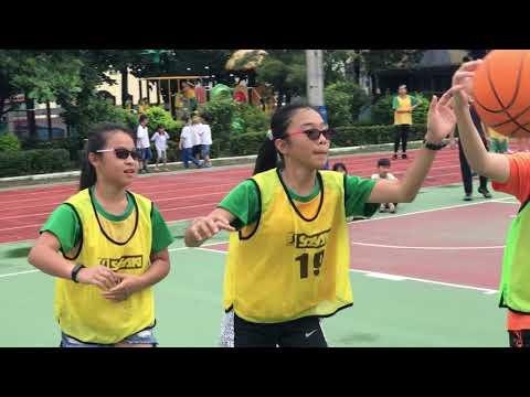芬園國小_校內女子籃球賽_(LKK隊) pk (S.C.J隊) 第2場